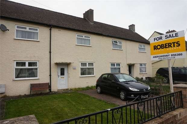 3 Bedrooms Terraced House for sale in Brynglas, Gilwern, ABERGAVENNY, Monmouthshire