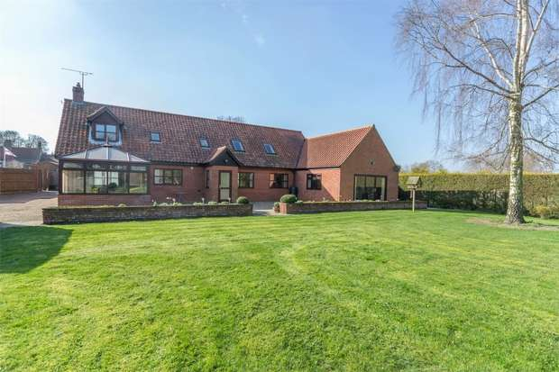 4 Bedrooms Detached House for sale in The Meadow, Great Ryburgh