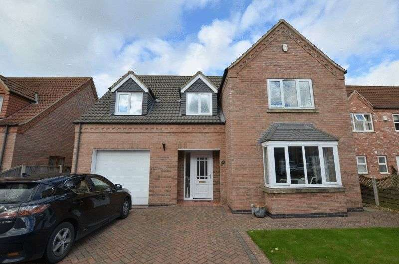 4 Bedrooms Detached House for sale in Astley Crescent, Scotter, Gainsborough