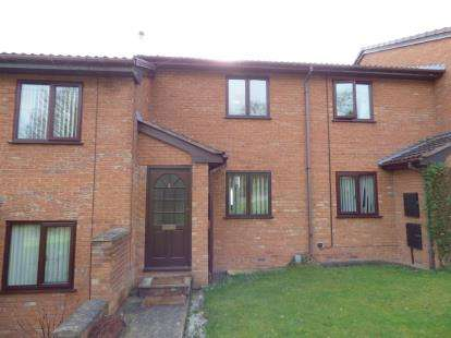 2 Bedrooms Terraced House for sale in The Parks, Tanyfron, Wrexham, Wrecsam, LL11