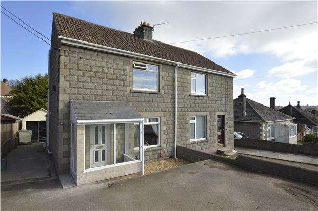 3 Bedrooms Semi Detached House for sale in Phillis Hill, Midsomer Norton, RADSTOCK, Somerset, BA3 2SW
