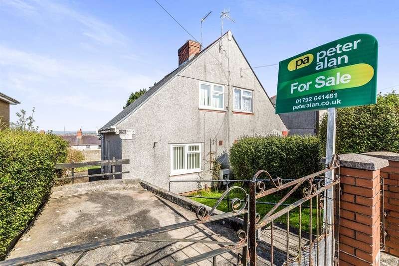 2 Bedrooms Semi Detached House for sale in Goronwy Road, Cockett, Swansea