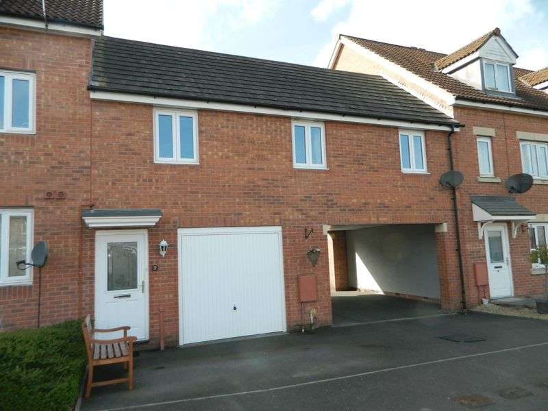 1 Bedroom Terraced House for sale in Cavalier Close, Bridgwater