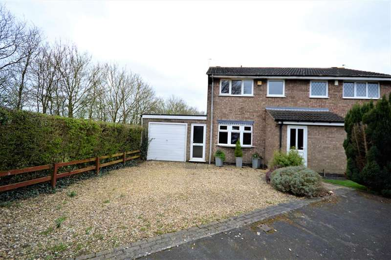3 Bedrooms Semi Detached House for sale in Nidderdale Road, Wigston, LE18 3XW