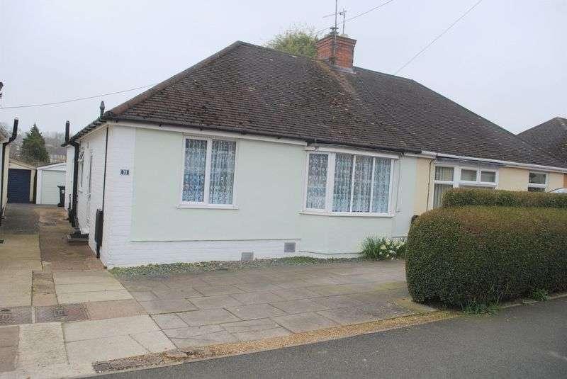 3 Bedrooms Semi Detached Bungalow for sale in St Margarets Avenue, Rushden