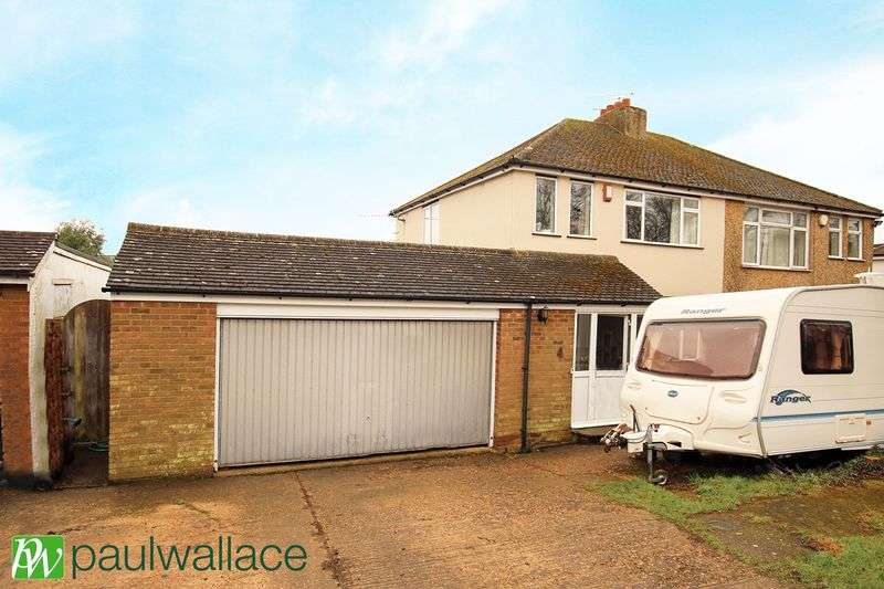 3 Bedrooms Semi Detached House for sale in Old Watling Street, Flamstead, St. Albans