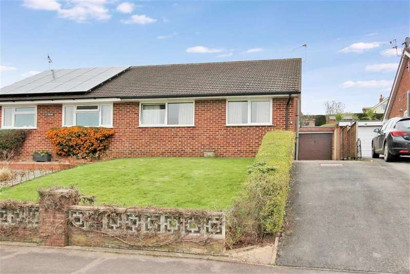 2 Bedrooms Semi Detached Bungalow for sale in Greytree, Ross On Wye