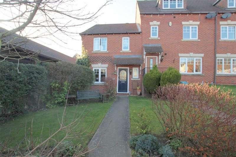 3 Bedrooms End Of Terrace House for sale in Harrington Walk, Lichfield, Staffordshire