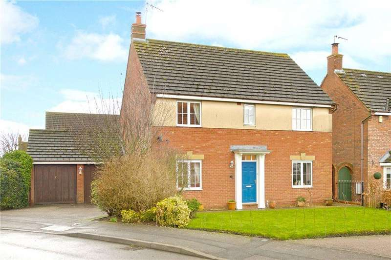 4 Bedrooms Detached House for sale in Lattimore Close, West Haddon, Northampton, Northamptonshire