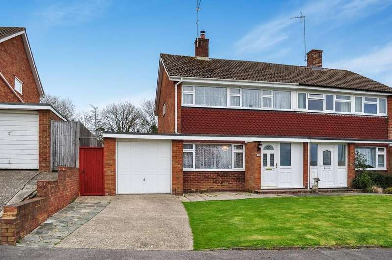 3 Bedrooms Semi Detached House for sale in Kingscote Hill, Gossops Green