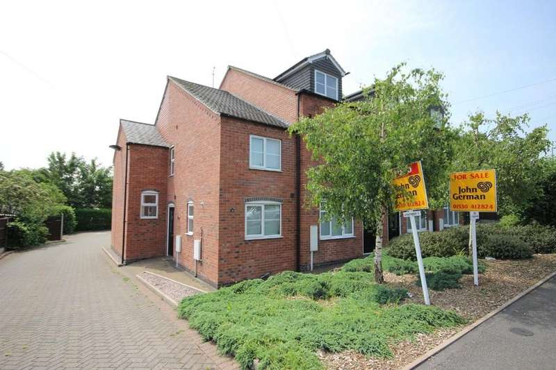 2 Bedrooms Town House for sale in Branston Row, Swadlincote