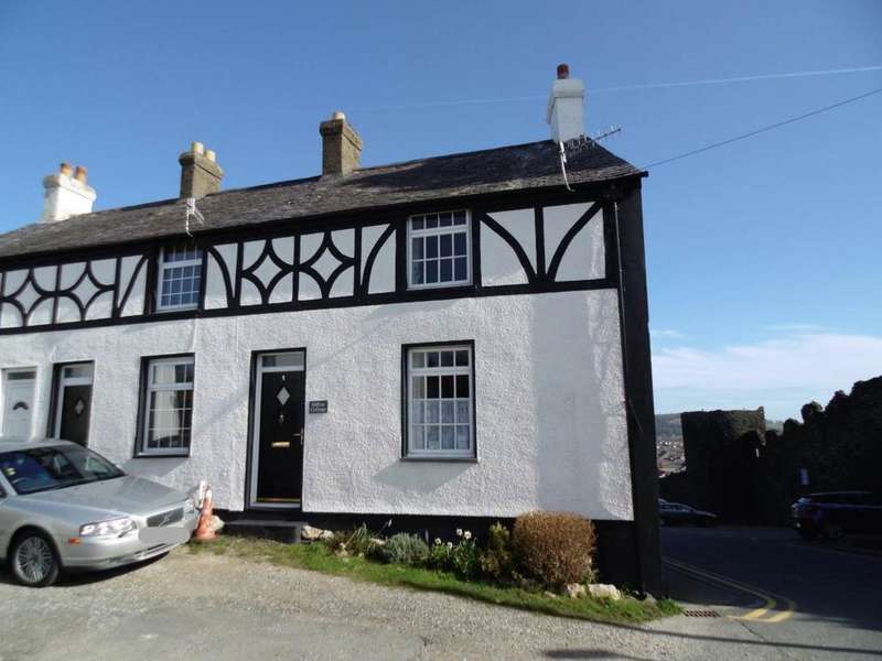 2 Bedrooms Cottage House for sale in 1 Mount Pleasant, Conwy, LL32 8NY