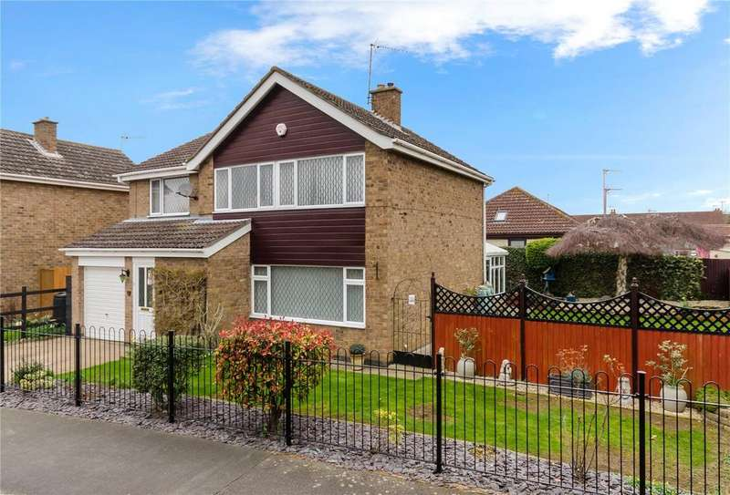 4 Bedrooms Detached House for sale in Hervey Road, Sleaford, Lincolnshire, NG34
