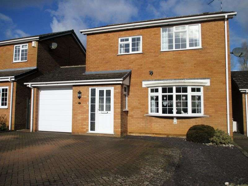 3 Bedrooms Detached House for sale in Gable Close, Daventry, NN11 4EX