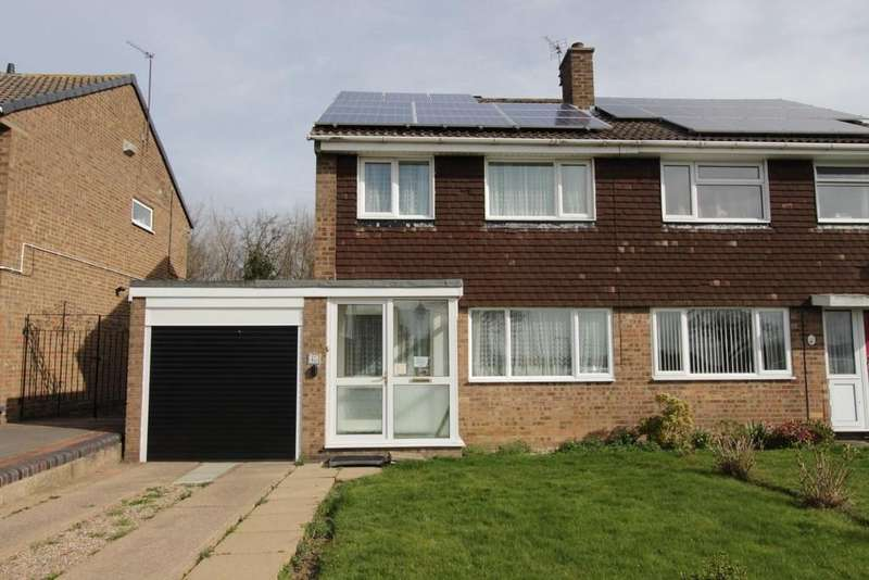 3 Bedrooms Semi Detached House for sale in Deltic, Glascote