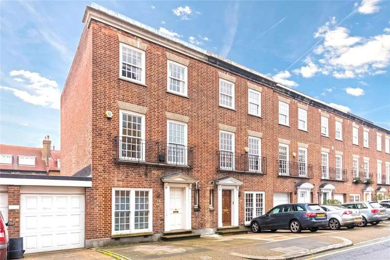 4 Bedrooms End Of Terrace House for sale in Park Walk, London, SW10