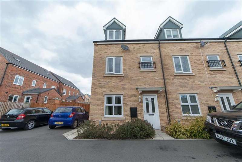 3 Bedrooms Terraced House for sale in Rotherdale Court, Walkergate, Newcastle Upon Tyne, NE6