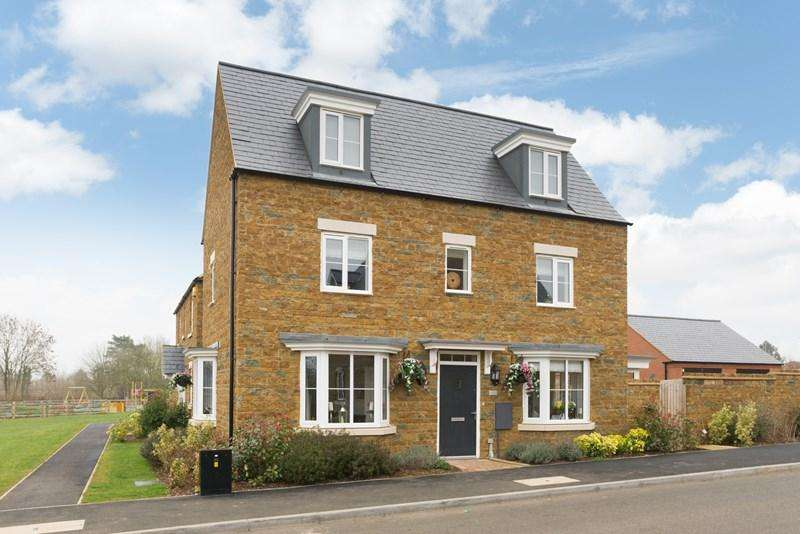 4 Bedrooms Detached House for sale in Wallin Road, Adderbury, Banbury