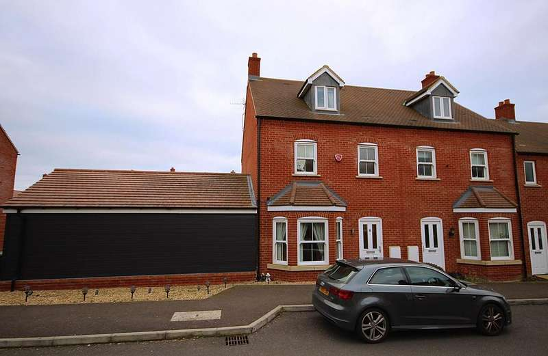 4 Bedrooms End Of Terrace House for sale in Fennel Avenue, STOTFOLD, SG5