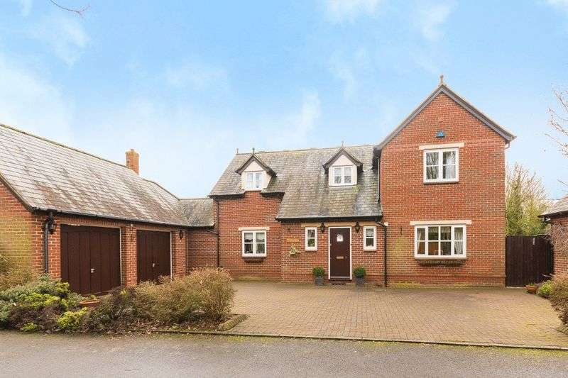 4 Bedrooms Detached House for sale in Drysdale Close, Radley