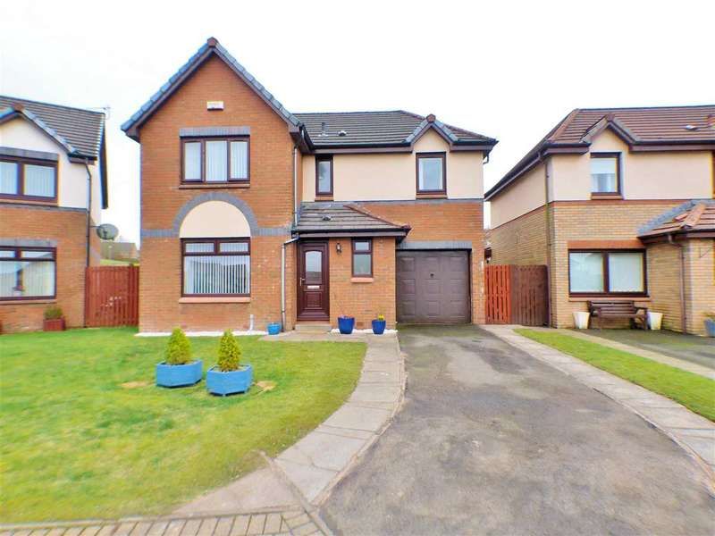 4 Bedrooms Detached House for sale in Ermelo Gardens, Lindsayfield, EAST KILBRIDE