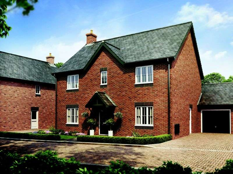 4 Bedrooms Detached House for sale in Plot 16 The Cottonwood, Barley Fields, Uttoxeter