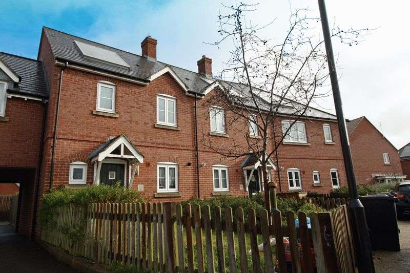 3 Bedrooms Terraced House for sale in Rifles Way, Blandford Forum.