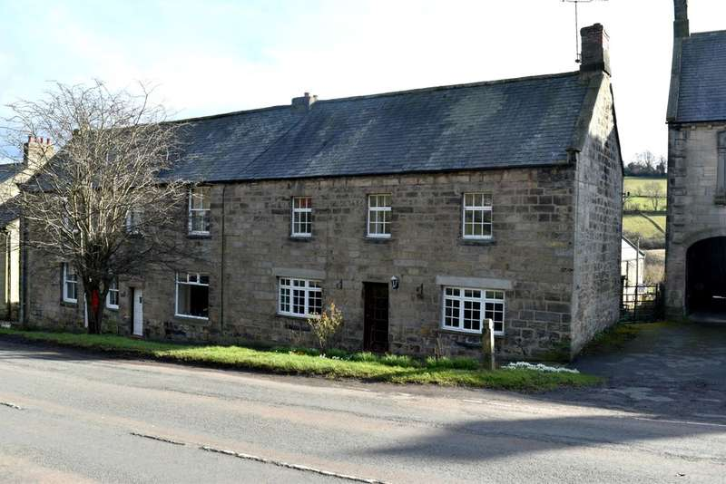 3 Bedrooms End Of Terrace House for sale in Front Street , Rothbury