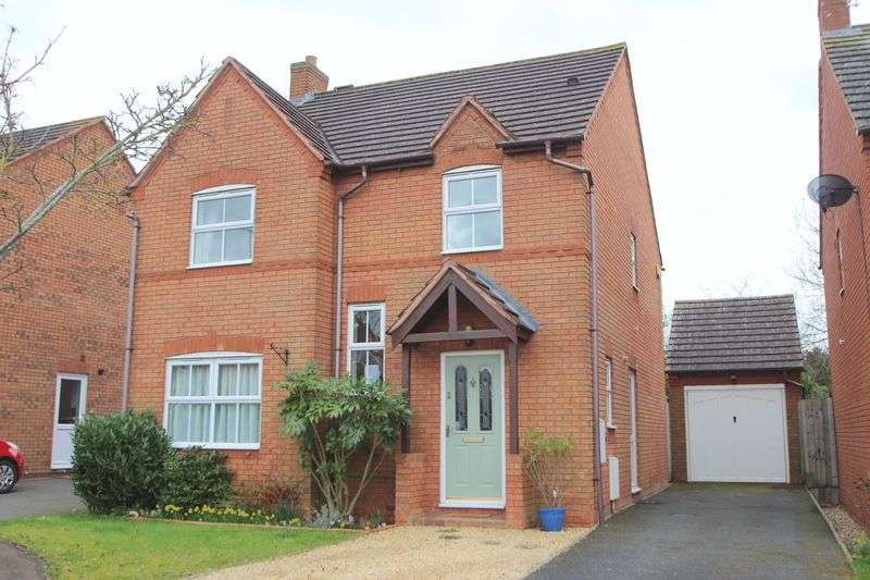4 Bedrooms Detached House for sale in Ebsdorf Close, Bidford on Avon