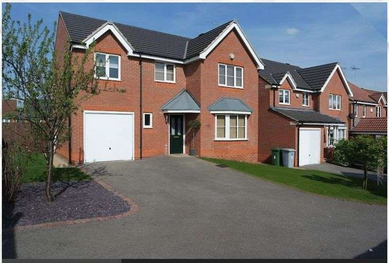 4 Bedrooms Detached House for sale in Primrose Way, Clipstone Village, NG21 9FF