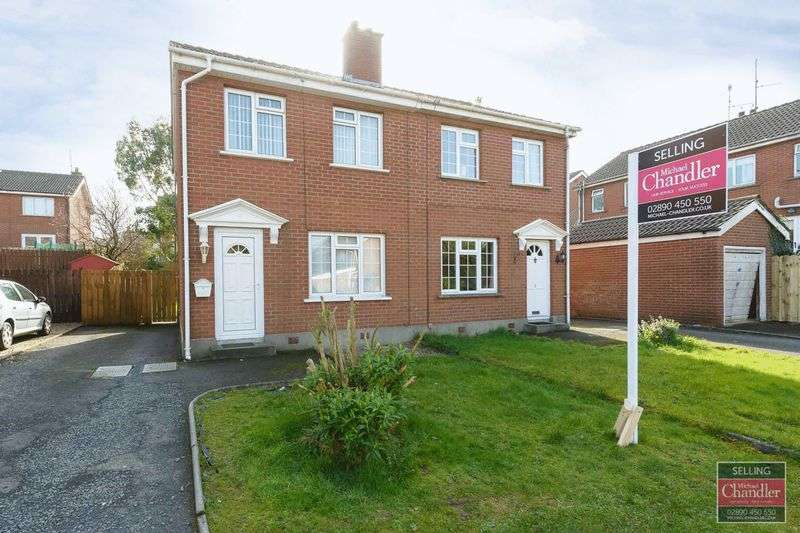 3 Bedrooms Semi Detached House for sale in 3 Muskett Park, Carryduff, BT8 8QR