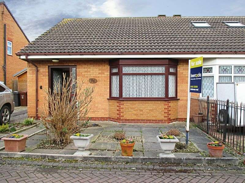 2 Bedrooms Semi Detached Bungalow for sale in St Margarets Court, Hull