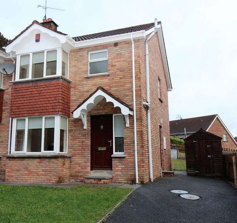 3 Bedrooms Semi Detached House for sale in 28 Cloughoge Heights, Dublin Road Newry BT35 8BA