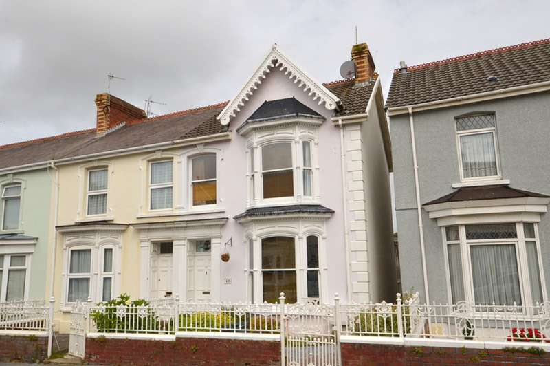 3 Bedrooms End Of Terrace House for sale in Glenalla Road, Llanelli, Carmarthenshire, SA15