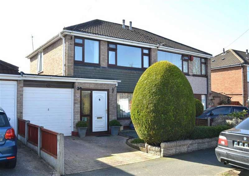 3 Bedrooms Semi Detached House for sale in Baker Drive, Great Sutton, CH66