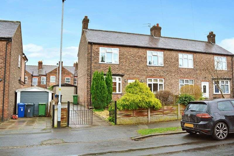 3 Bedrooms Semi Detached House for sale in Algernon Street, Stockton Heath, Warrington