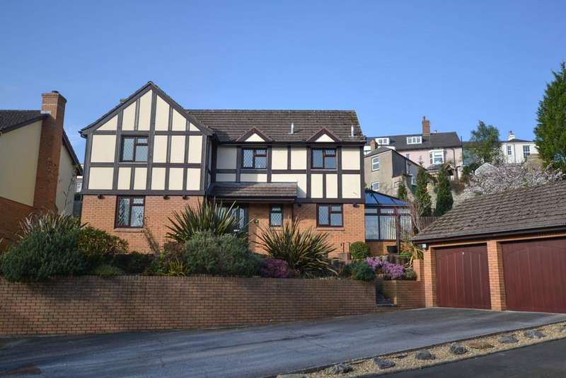 4 Bedrooms Detached House for sale in Stoneleigh Close, Highweek