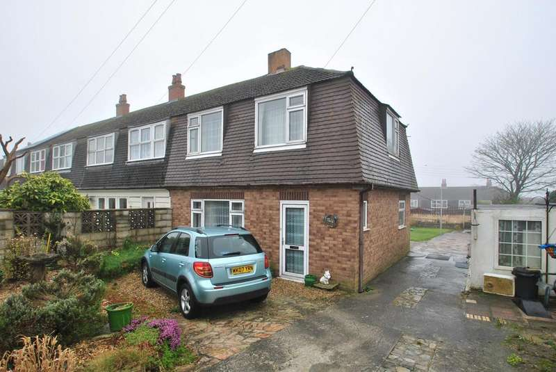 3 Bedrooms Semi Detached House for sale in Parka Road, St. Columb Road