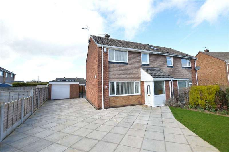 3 Bedrooms Semi Detached House for sale in Long Meadows, Garforth, Leeds