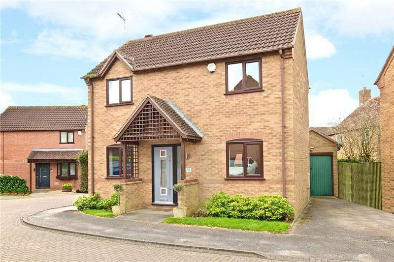 3 Bedrooms Detached House for sale in Kirkeby Close, Stantonbury Fields, Milton Keynes, Buckinghamshire
