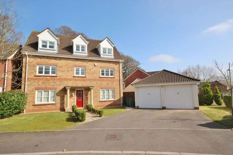 5 Bedrooms Detached House for sale in Woodruff Way, Thornhill, Cardiff