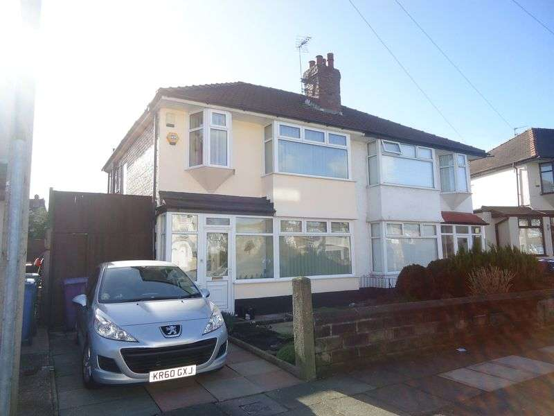 3 Bedrooms Semi Detached House for sale in Eaton Gardens, Liverpool SEMI-DETACHED PROPERTY