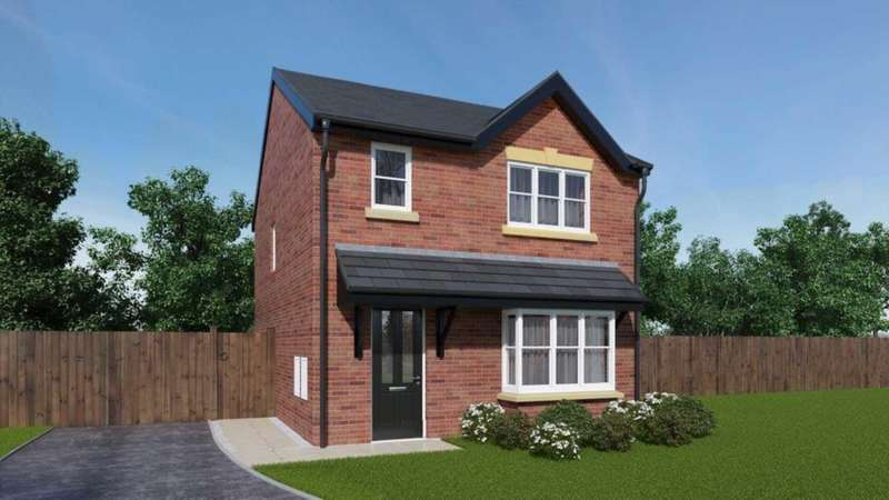 3 Bedrooms Detached House for sale in Hough Fold Way, Harwood