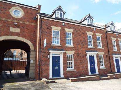 3 Bedrooms Terraced House for sale in Second Wood Street, Nantwich, Cheshire