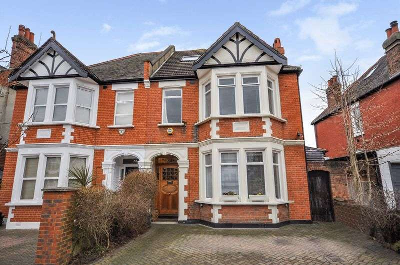 5 Bedrooms Semi Detached House for sale in Goldsmith Avenue, London, W3