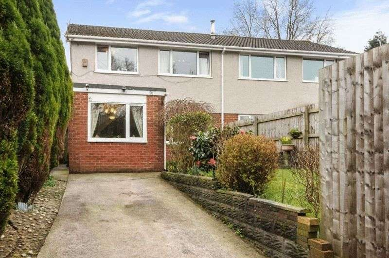 3 Bedrooms Semi Detached House for sale in Cwmbach Road, SA5 5BN