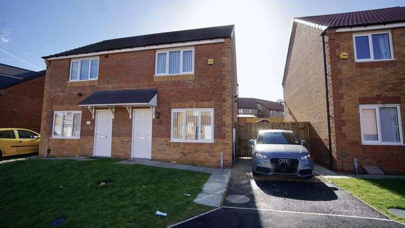 2 Bedrooms Semi Detached House for sale in HYPERION WAY Walker