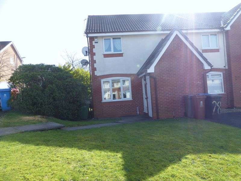 2 Bedrooms Semi Detached House for sale in Sefton Close, Moorside