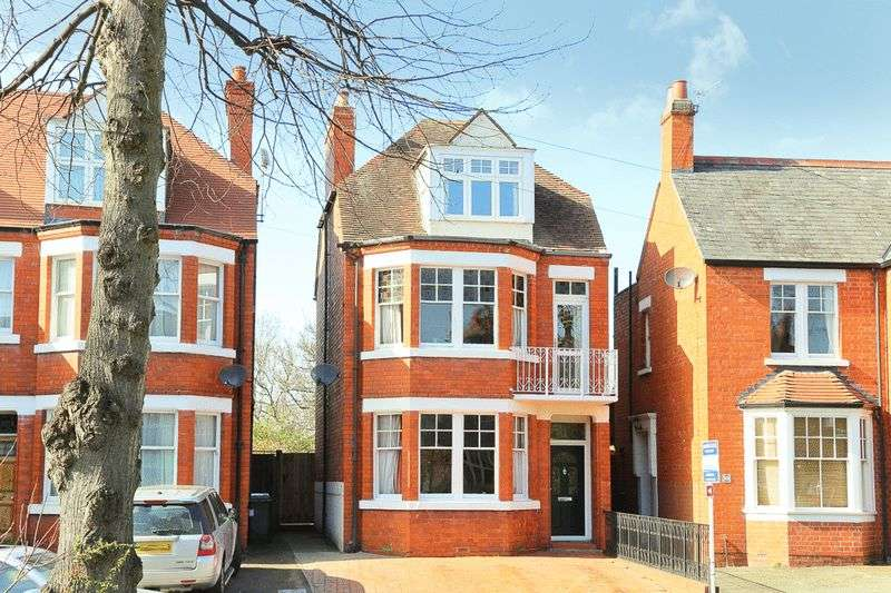 5 Bedrooms Detached House for sale in Monkmoor Road, Shrewsbury