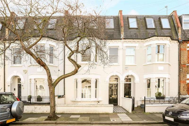 3 Bedrooms Terraced House for sale in Marville Road, Fulham, London, SW6